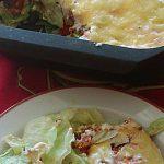 Überbackener Taco - Salat