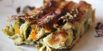 Vegetarische Gemüse - Pilz - Cannelloni