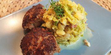 Wirsing - Kartoffel - Gemüse mit Sahne