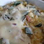 Zucchini - Auflauf mit Käse überbacken