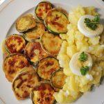 Zucchini im Ausbackteig - griechische Art